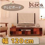 天然木北欧デザインテレビボード【Bisca】ビスカ 幅120 483909