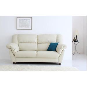 ソファー 2人掛け 座面カラー:アイボリー 腰に優しいソファ EULAC ユーラック