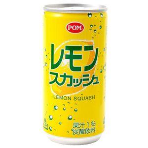 えひめ飲料 ポン炭酸飲料 レモンスカッシュ 200ml×60本