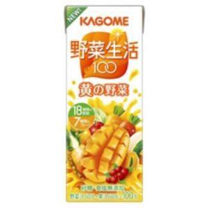 カゴメ 野菜生活100 紙パック200ml 黄の野菜 72本セット<Br>(1本あたり約79円)