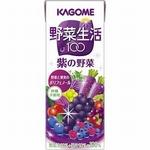 カゴメ 野菜生活100 紙パック200ml 紫の野菜 72本セットの詳細ページへ