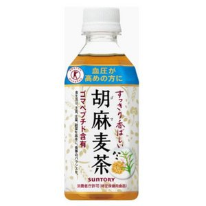 SUNTORY(サントリー) 胡麻麦茶 350ml×72本セット 【特定保健用食品(トクホ)】
