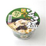 東洋水産 マルちゃん カップめん 12個 つるっとワンタン麺 豚骨