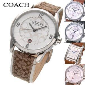 Coach(コーチ) シグネチャー レザーウォッチ 14600859 メンズブルー