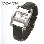 COACH (コーチ)ブライダル クロコレザーウォッチ 14500717 ブラック