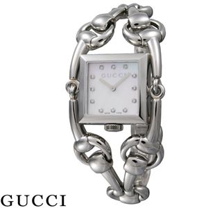 GUCCI(グッチ) 12Pダイヤ レディースブレスウォッチ YA116309