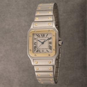Cartier (カルティエ) レディースウォッチ W20012C4 サントスガルベ SG SM