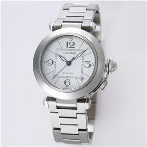 Cartier (カルティエ) ユニセックスウォッチ W31074M7 パシャC ホワイト