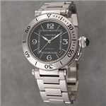 Cartier (カルティエ) ユニセックスウォッチ W31077M7 パシャ シータイマー ブラック