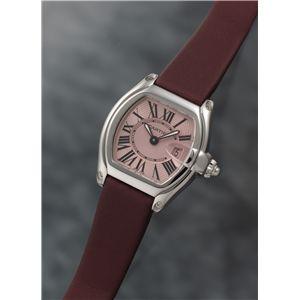 Cartier (カルティエ) レディースウォッチ W62017V3 ロードスター SM ピンクダイヤル