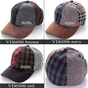 VONDUTCH 帽子 VD6006 ブラウン