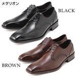 Falchi New York レザードレスシューズ 001 ブラック 24.5
