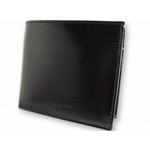 ブルガリ 20064 財布 2つ折り 財布 BVLGARI ブラック