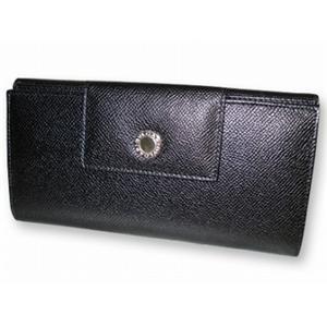 ブルガリ 20401 財布 Wホック3つ折 長財布 BVLGARI ブラック