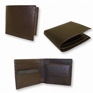 ブルガリ 20815 2つ折り 財布 チョコレートブラウン BVLGARI