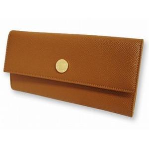 ブルガリ 20910 財布 2つ折り 長 財布 ブラウン BVLGARI