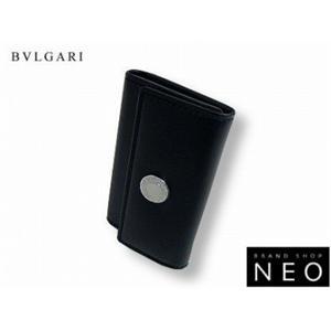 ブルガリ 21369 6連 キーケース ブラックBVLGARI