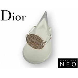 Christian Dior クリスチャン ディオール D80663 プレートリング  シルバー