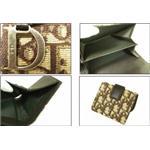 クリスチャン ディオール LGV43025 M7 マロン Wホック 2つ折り 財布 Christian Dior
