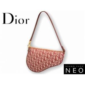 Christian Dior クリスチャン ディオール SLO44012-R4 アクセサリー ポーチ レッド
