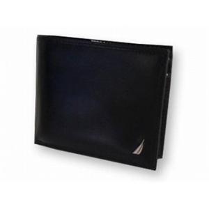 ノーティカ 6186-01 BK 2つ折り 財布 NAUTICA ブラック