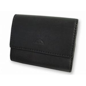 アークドール 90248 ダブルホック 3つ折 財布 ARC D'OR ブラック