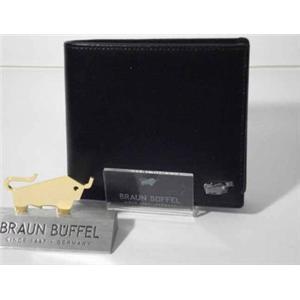 ブラウンビュッフェル JWM21 2つ折り財布 小銭入れ付き ブラック
