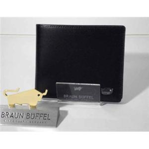 ブラウンビュッフェル JWM20 2つ折り財布 ブラック