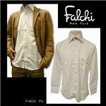 Falchi NewYork(ファルチ ニューヨーク) メンズドレスシャツ F-W-PU #3(パープル) Lサイズ(41-84)