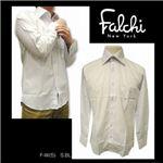 Falchi NewYork(ファルチ ニューヨーク) メンズドレスシャツ F-W-S.BL #5(スカイブルー) LLサイズ(43-86)