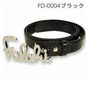 FALCHI NEW YORK(ファルチニューヨーク)デザインベルト FD-0004-01 ブラック
