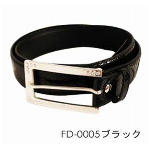 FALCHI NEW YORK(ファルチニューヨーク)デザインベルト FD-0005-01 ブラック