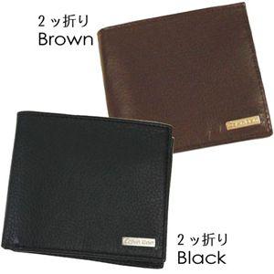 Calvin Klein(カルバンクライン)79215(二折財布) ブラウン