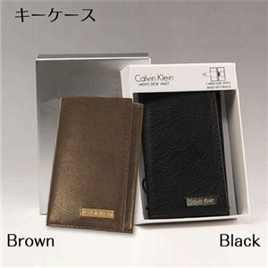 Calvin Klein(カルバンクライン) 79216(キーケース) ブラウン