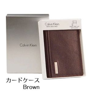 Calvin Klein(カルバンクライン)79218(カードケース) ブラウン