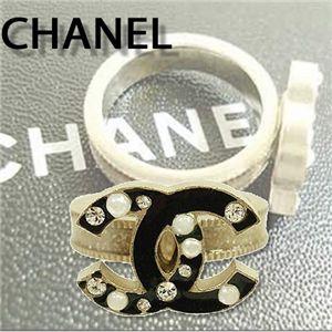 CHANEL(シャネル) リング 36261・G/BK/CR