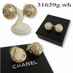 <strong>CHANEL(シャネル) ピアス</strong> 31659(g.wh)
