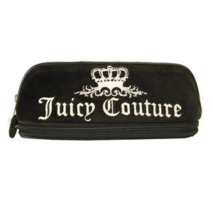 JUICY COUTURE(ジューシークチュール)YSRU0698-001 ブラック化粧ポーチ