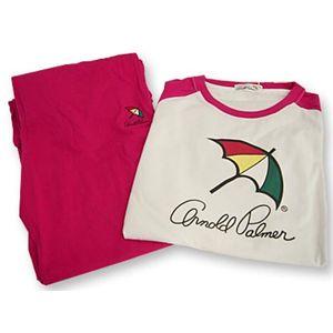 Arnold Palmer(アーノルドパーマー) APJ-01サイズL ピンク Tシャツ上下セット