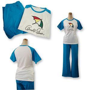 Arnold Palmer(アーノルドパーマー) APJ-01サイズL ブルー Tシャツ上下セット