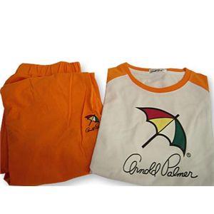 Arnold Palmer(アーノルドパーマー) APJ-01サイズL オレンジ Tシャツ上下セット