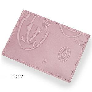 Cartier(カルティエ) カードケース 3788・ハッピーバースデー/ピンク