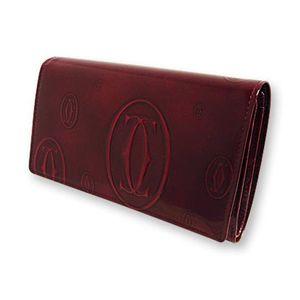 商品写真カルティエ/Cartier 2つ折り 財布 [ ハッピーバースデーライン/L3000347