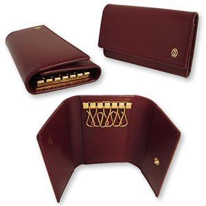 01カルティエ/Cartier 6連 キーケース パシャ/L3000711