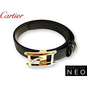 Cartier(カルティエ) リバーシブル ベルト ゴールドバックル L5000057
