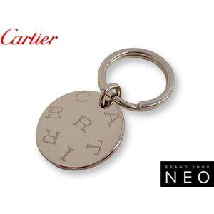 商品画像カルティエ/Cartier ラウンド プレート キーリング/T1220154
