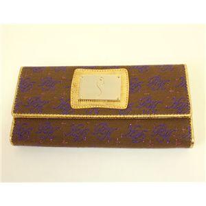 PARIS HILTON パリスヒルトン 3ッ折り財布 WACA0554 CaffeLine クルミ×パープル