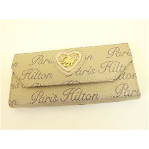 PARIS HILTON パリスヒルトン 3ッ折り財布 WADE0513 DesireLine ゴールド×ブロンズ