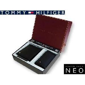 TOMMY HILFIGER トミーヒルフィガー 4493 BK 2つ折財布 キーケース セット