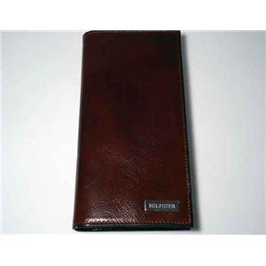 トミーヒルフィガー  長財布 ブラウン 4883-04 TAN ブラウン